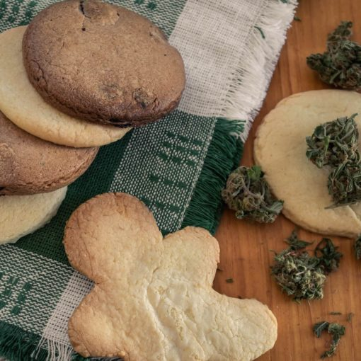 Cookies Baked With CBD
