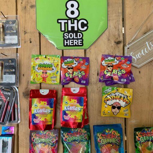 Delta-8 THC Gummies & Edibles